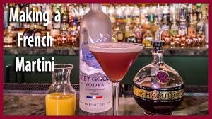 french martini how to make an awesome french martini youtube
