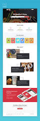 multi categories web design template for startups sketch
