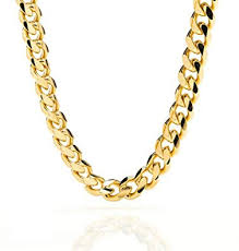 plated chain necklace images Miami cuban link 24k real gold plated chain necklace 9mm for men jpg