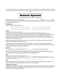 Free Residential Lease Agreement Templates Room Rental Agreement Templates 17 Template Samples Blogodeco