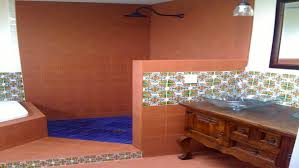 mexican bathroom ideas mexican tile bathroom ideas best shower vanity cabinets song