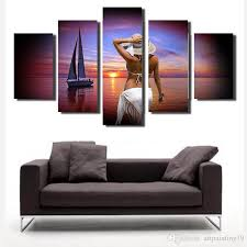 Landscape Canvas Prints by 2017 Popular Products Cost Price Wall Art Landscape Ink Printing 5