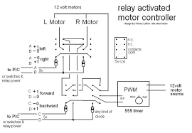 motors control with relays tank style motor control