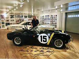 classic ls shelby nc superformance superformance remembers our friend and colleague
