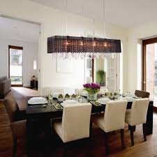 modern lighting over dining table dining room linear lighting options hanging ceiling lights for