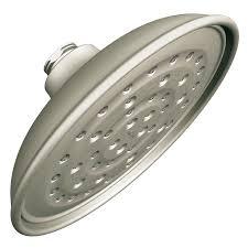 Lowes Shower Head Shop Moen Vitalize Spot Resist Brushed Nickel 1 Spray Rain Shower