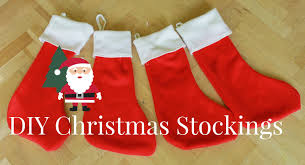 how to make christmas stockings diy christmas decorations youtube
