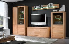 Wohnzimmerschrank Richtig Dekorieren Wohnwände Kernbuche Massiv Dekoration Und Interior Design Als