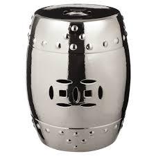 grand drum stool silver bar stools stockroom hong kong