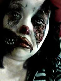 Evil Clown Halloween Costumes 74 Scary Clown Makeup Images Halloween Ideas