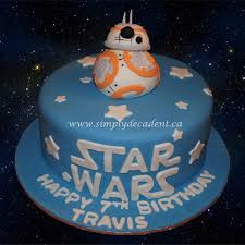 wars birthday cakes wars birthday cake with 3d fondant bb8 robot droid
