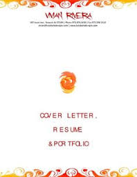 Portfolio Folder For Resume Cover Letter For Retail Jobs Http Getresumetemplate Info 3598