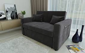 two seater sofa bed direct furniture ravena 2 seater sofa bed with side pocket storage