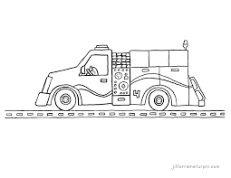 free printable fire truck coloring pages u2013 my very own fire truck