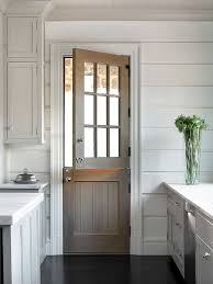 interior kitchen doors door adds light but maybe much sun for this climate