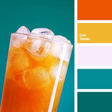 color combinations with orange color palette 2034 color palette ideas