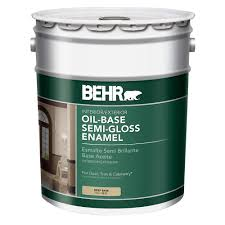 Home Depot 5 Gallon Interior Paint by Behr 5 Gal Deep Base Semi Gloss Oil Based Interior Exterior