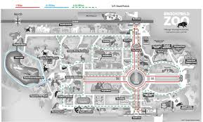 chicago zoo map chicago zoological society zoo maps
