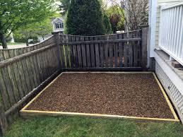 dog run backyard home outdoor decoration