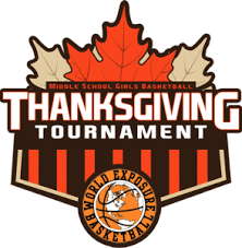middle school thanksgiving tournament information and registration