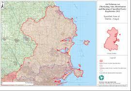 Dublin Ireland Map The U0027smoky Coal U0027 Ban Green Heat