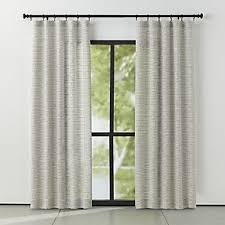 Standard Window Curtain Lengths Curtain Panels And Window Coverings Crate And Barrel