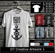 desain gambar untuk distro gambar kaos distro ocean seven desain kaos