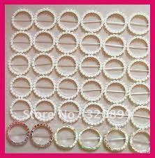 chair sashes wholesale aliexpress buy wholesale 100pcs lot 50mm outer pearl belt