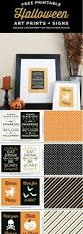 free printable halloween prints and signs free halloween