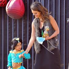 jessica alba and honor in halloween costumes pictures popsugar