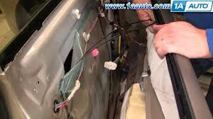 Toyota Tacoma Exterior Door Handle How To Install Replace Front Inside Door Handle Toyota 04