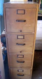 tall wood file cabinet you ve got class vintage file cabinet with wood finish vintage