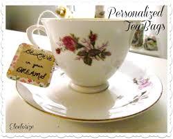 personalized tea bags etcetorize personalized tea