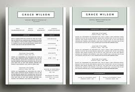 resume template for pages two page resume templates pertamini co