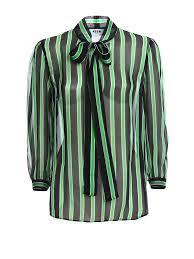 black and white striped blouse chiffon striped blouse empat blouse