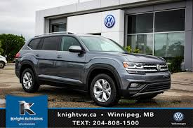 volkswagen atlas interior sunroof 2018 volkswagen atlas highline awd w leather sunroof app connect