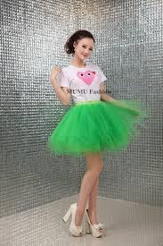 green tulle 2018 wholesale green pink tutu tulle skirt mini gauze