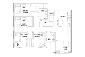bathroom floor plans 4 bedroom 3 bathroom floor plans hub flagstaff student