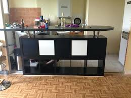 cuisine avec bar pour manger table haute mange debout ikea cheap excellent stunning table de