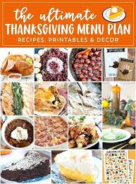 thanksgiving food menu annaunivedu