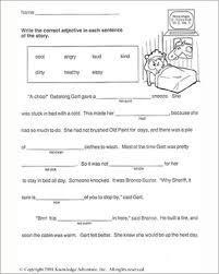 getalong gets better u2013 vocabulary worksheet for second graders