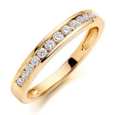 gold eternity rings 9ct gold diamond eternity ring 0000956 beaverbrooks the jewellers