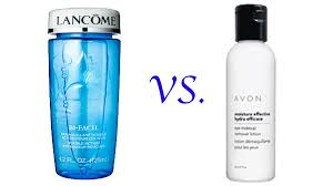lancome u0026 avon makeup remover review youtube