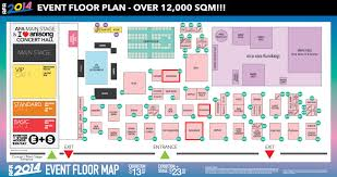 Event Floor Plans by Anime Festival Asia Singapore Afasg 2014 Weiβ Schwarz