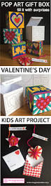 pop art hearts doodle gift box craftivity for mother u0027s day