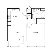 one bedroom house floor plans one bedroom plan of a house talentneeds com
