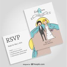 wedding invitations freepik wedding invitation mock up vector free
