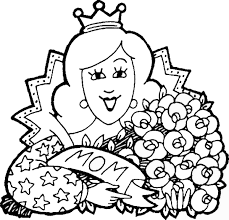 mother s day coloring sheet mothers day coloring pages printable coloring image
