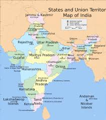 Map Of Asia With Capitals by Map Of India With States And Capitals Names Http