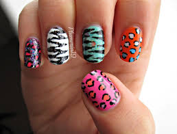 animal print nail designs nail art
